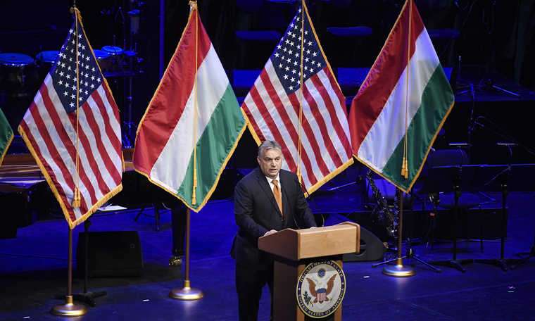 Orban: Hungary, US share common values
