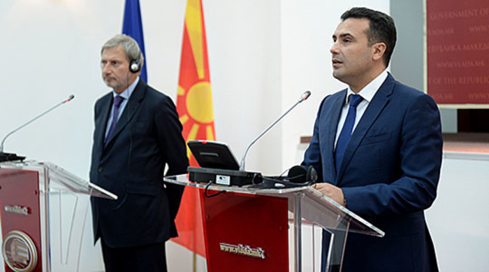 Hahn tells Zaev to tackle corruption as his Government reels from the Katica Janeva scandal