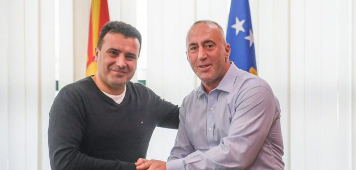 Haradinaj reacts to Zaev talking about Kosovo's partition with Russian comedians