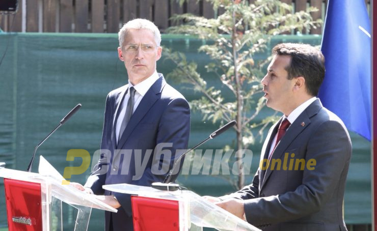 "Zaev offered the Krivolak army range to ""Stoltenberg"", warned him against Turkish take-over of northern Cyprus"
