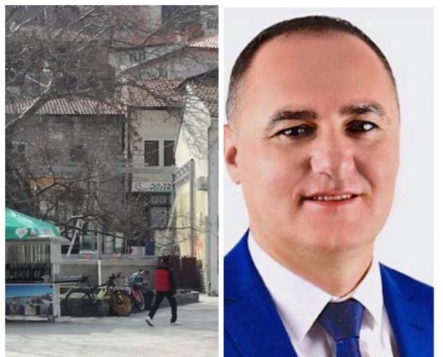 Useini says he will tear down his illegal restaurant only after all the other 1.401 illegal sites in Ohrid are town down