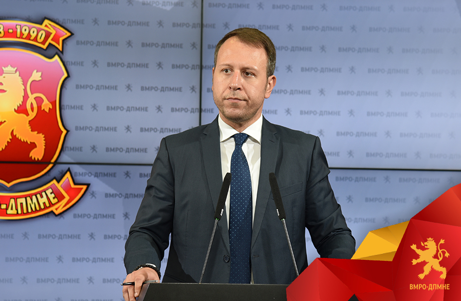VMRO demands urgent resignation from the Government after tapes reveal that the judicial system is thoroughly compromised