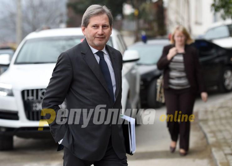 Hahn tweets after Doris Pack called on European bureaucrats