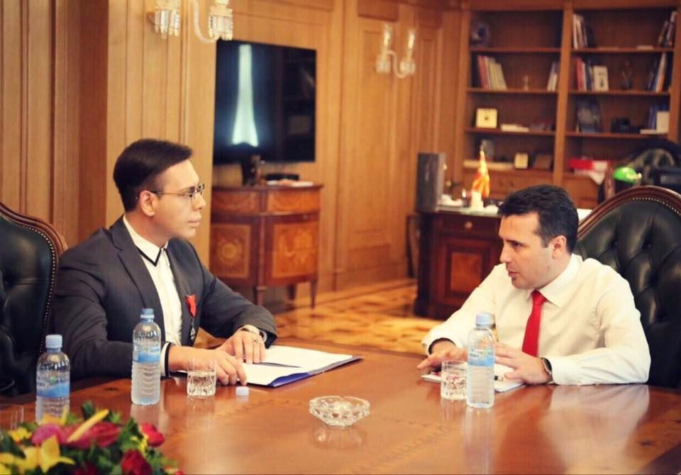 "Zaev seeks to downplay his involvement in Boki 13's fake ""charity"""