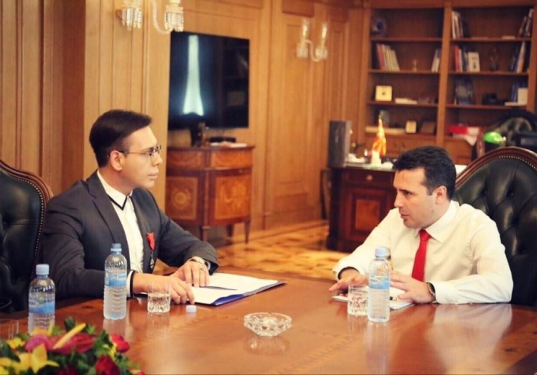 Zaev did not report the racket, he obstructed the investigation