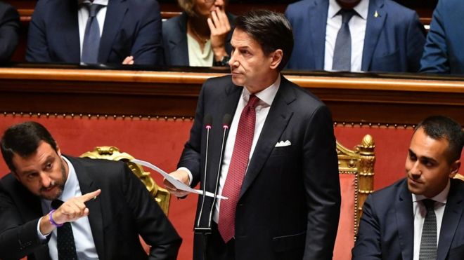 Italian Prime Minister Conte resigns, ruling coalition collapses