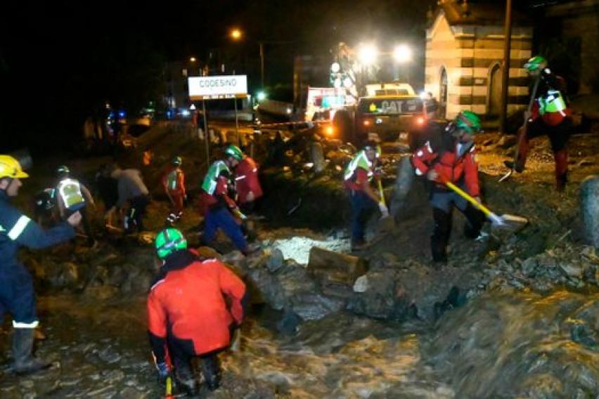 200 evacuated after landslide cascades through a northernItaliantown
