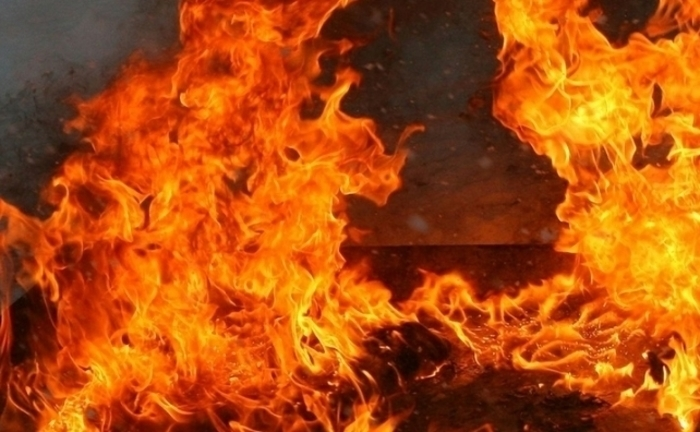 Railway traffic between Macedonia and Serbia interrupted because of a fire