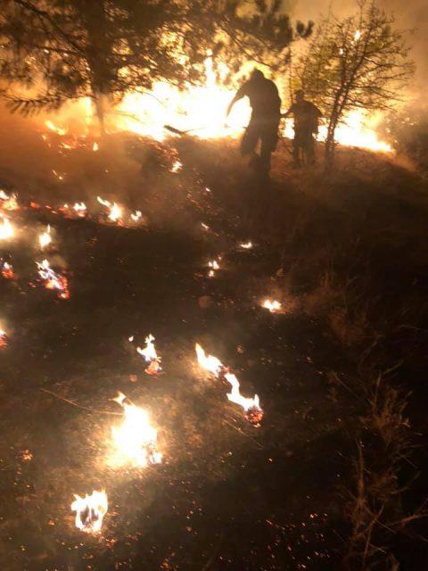 Veles fire extinguished late last night