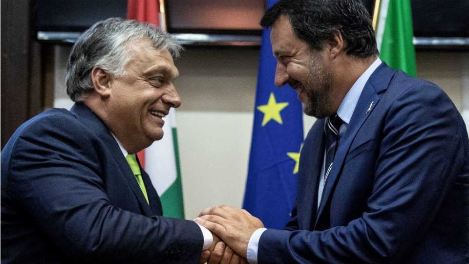 Orban to Salvini: We will never forget that you were the first leader to make attempt to prevent illegal migrants from flooding Europe