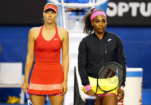 US Open to kick off with huge first-round match: Williams vs Sharapova