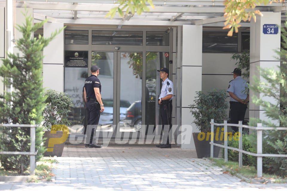 Police search Janeva's SPO office and Gevgelija home