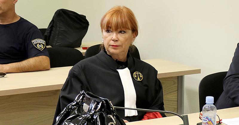 Vilma Ruskoska returns to work from summer vacation