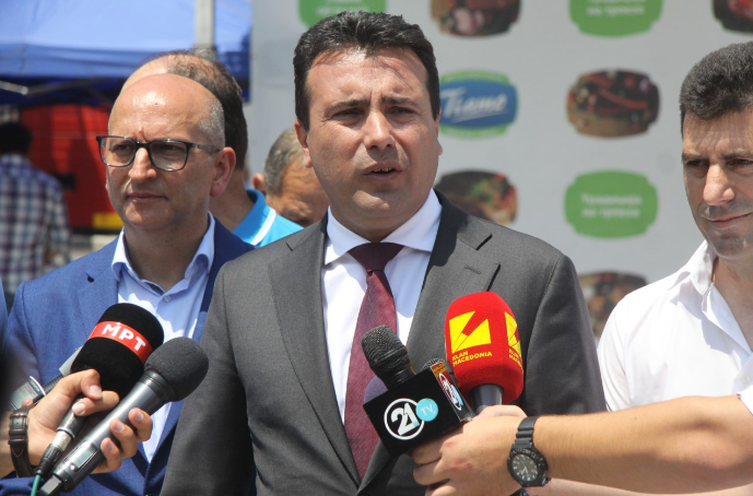 """Zaev: I will sue the journalist who accused me of being involved in """"Racket"""", Ruskoska to say if the record is authentic"""