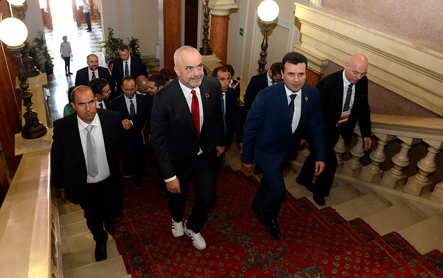 Rama says it would be harmful for the region if Macedonia opens EU accession talks and Albania doesn't
