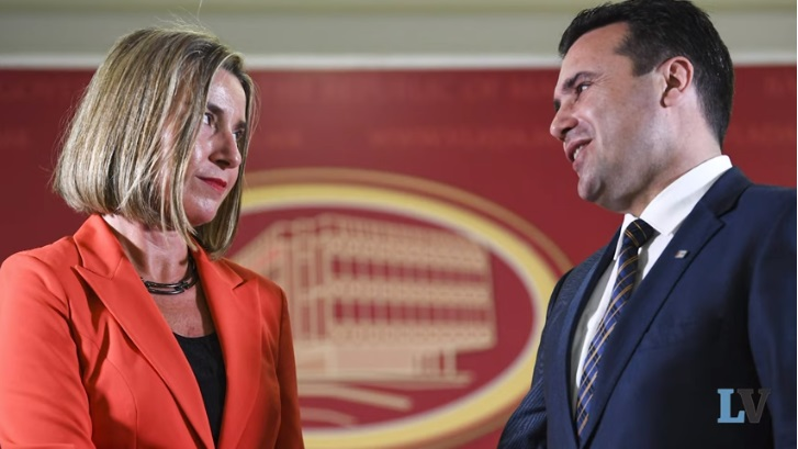 "La Verità: Macedonia's extortion case also triggered by the EPP – ""Mogherini, say something""!"