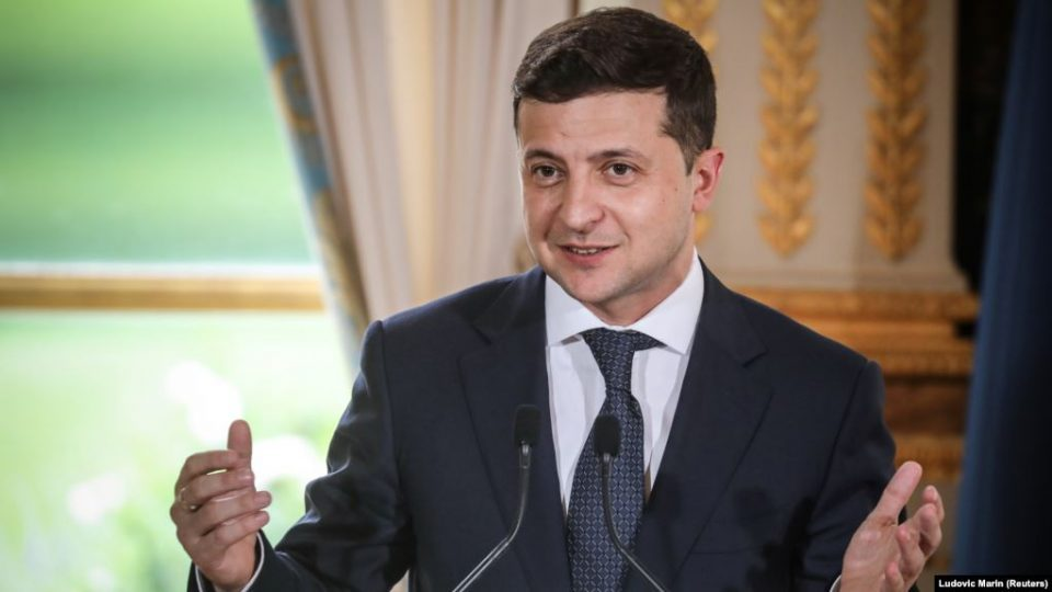Zelensky calls on Macron, Merkel and Putin to urgently hold Normandy Four meeting