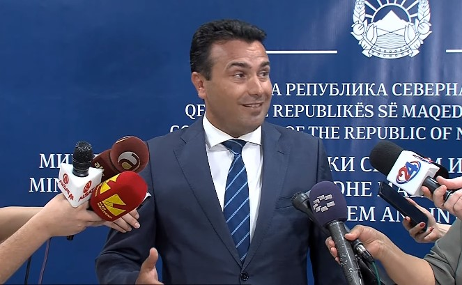 "Zaev: It should not be forgotten that I am the man who reported the ""Racket"" case"