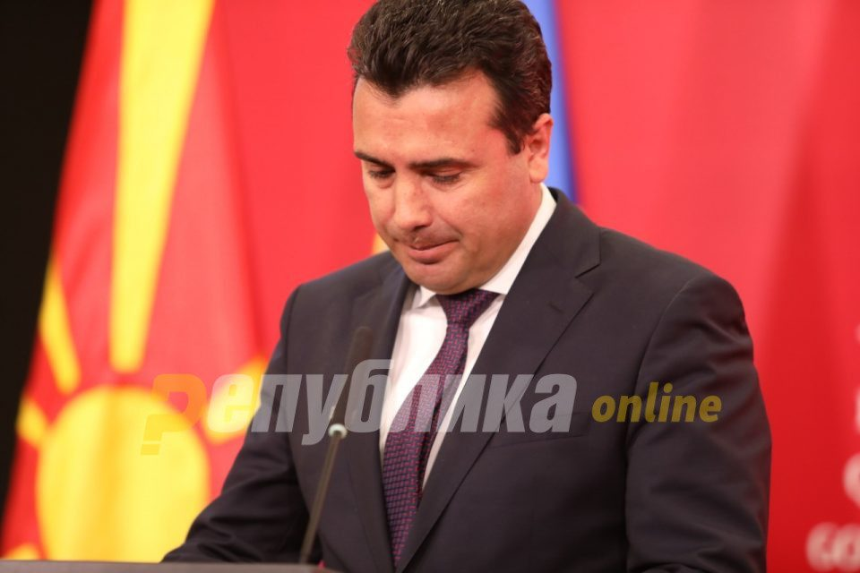 Zaev says he is not considering a resignation or holding early elections