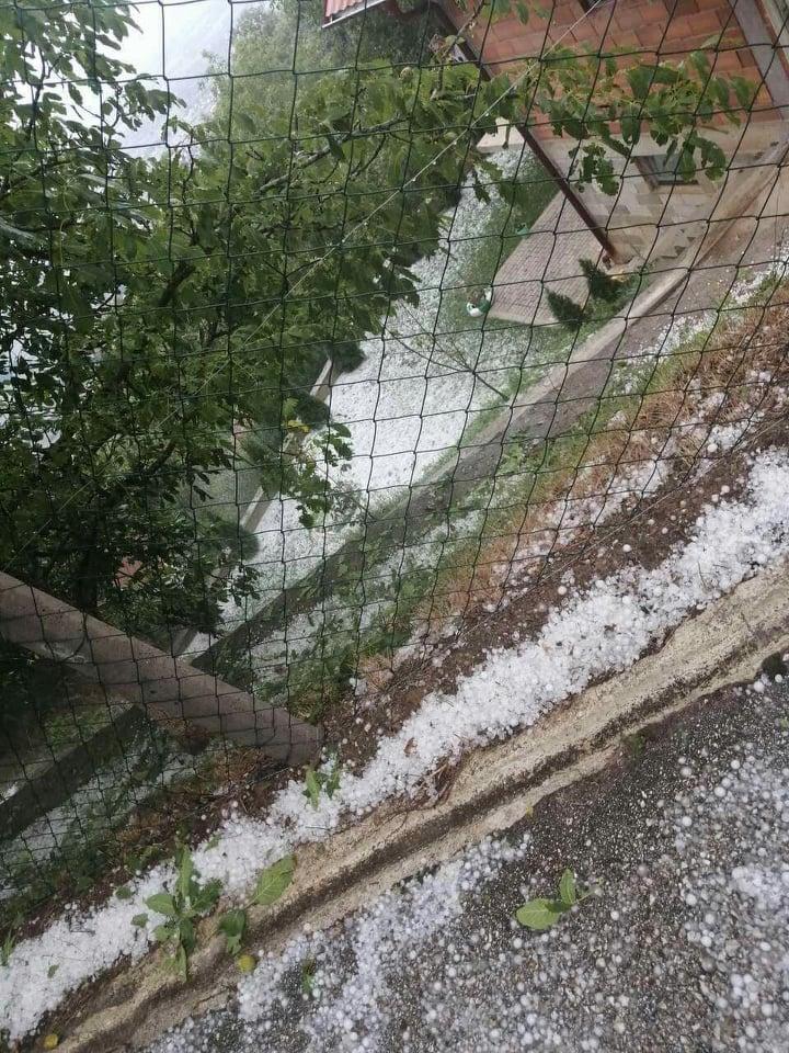 Heavy storm hits Tetovo villages