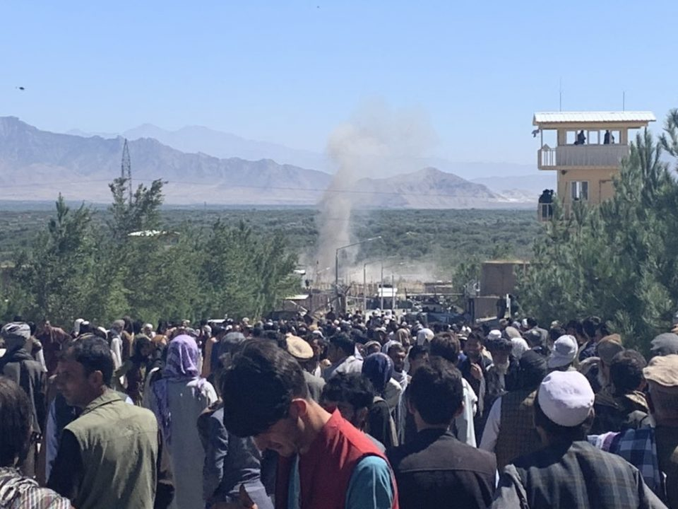 Afghan President Ghani narrowly avoids a Taliban bomb, 24 people killed