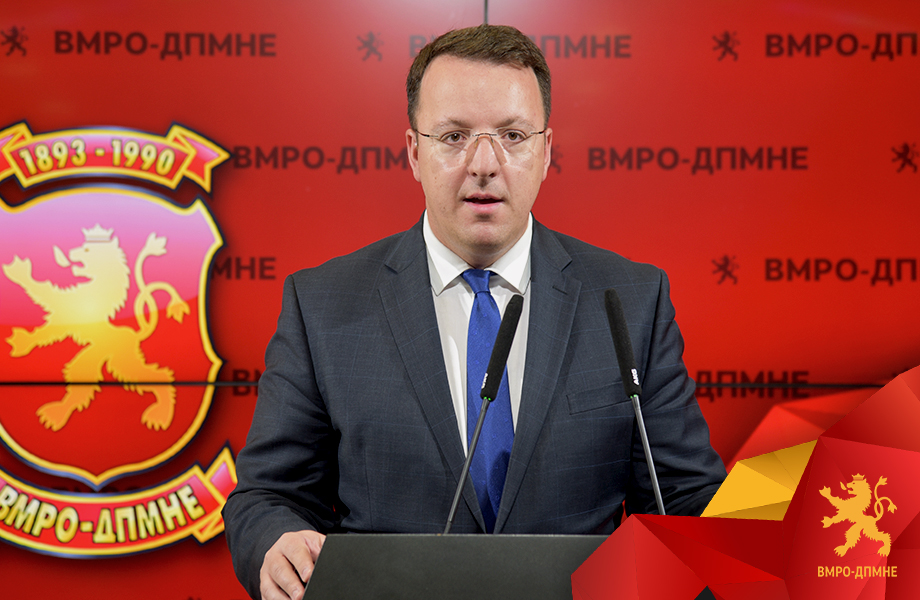 Zaev threatens to sue VMRO deputy leader Nikoloski after he revealed details about the racketeering scandal