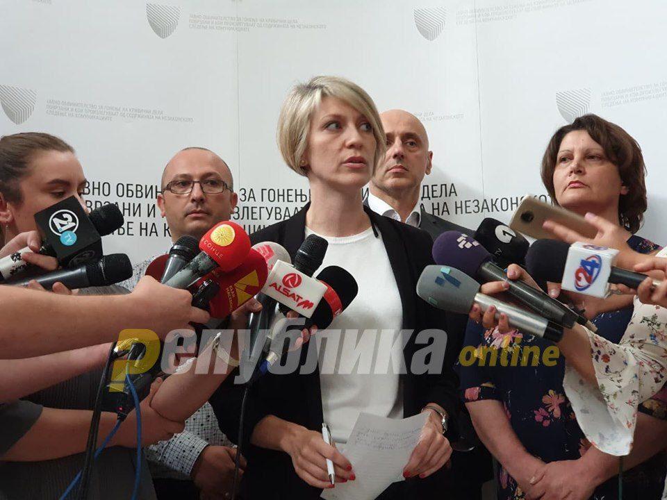 "Joveski gives ""Talir 2"" to prosecutor Lence Ristovska"