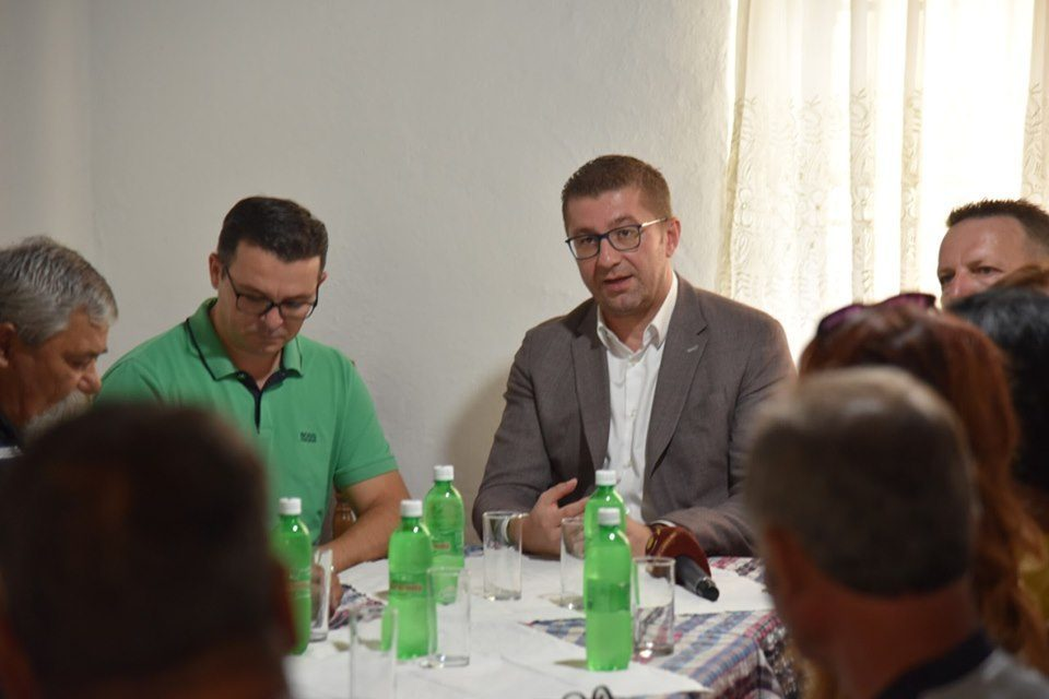 Mickoski visits Tikves region: If this continues, vine growers will leave the fields
