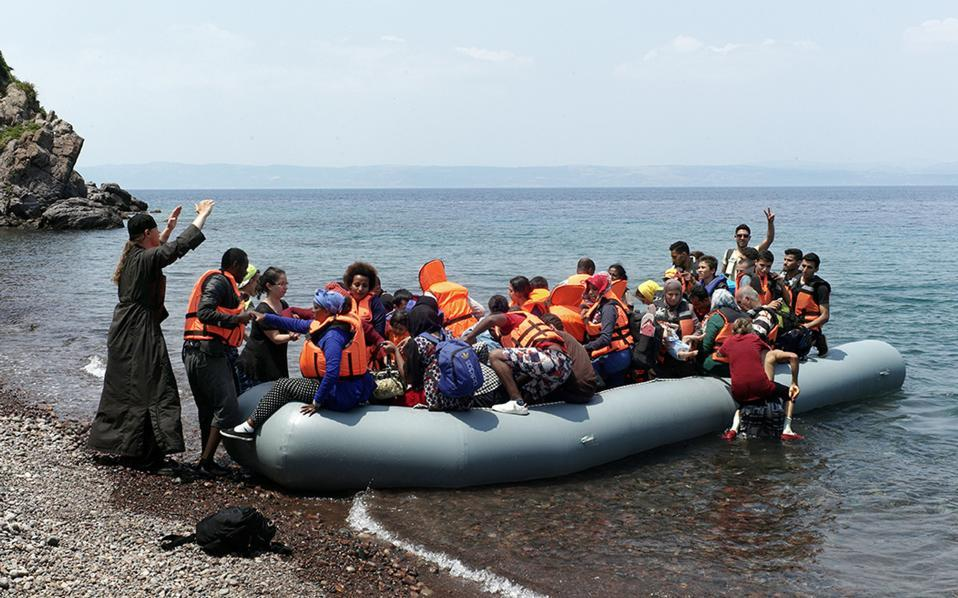 Influx of new migrants in the Greek islands could soon be felt in Macedonia