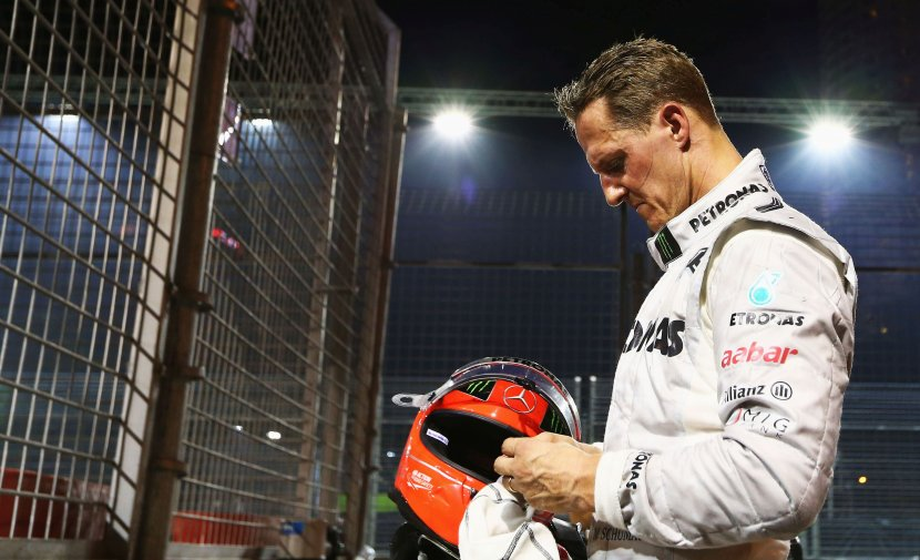 Michael Schumacher 'admitted to Paris hospital to undergo secret treatment'