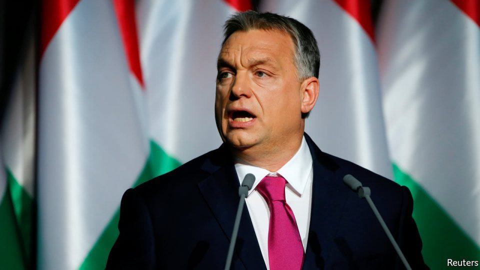 Orban says that Trocsanyi's sin was in that he helped stop the flow of migrants into Europe