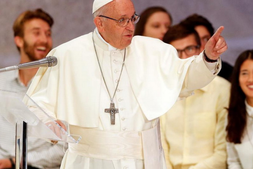 Pope Francis: It's an honor that the Americans attack me