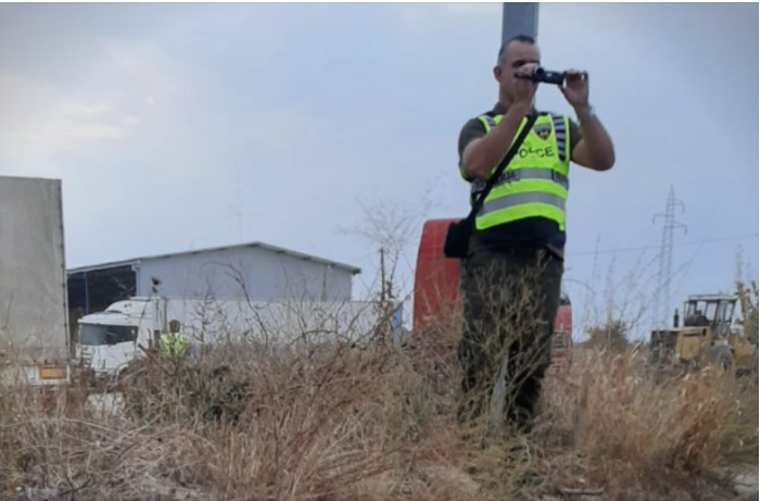 Intimidation: Police sent to photograph farmers protesting in Rosoman