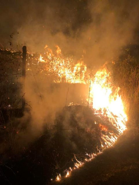 Large fire near Katlanovo put out this morning