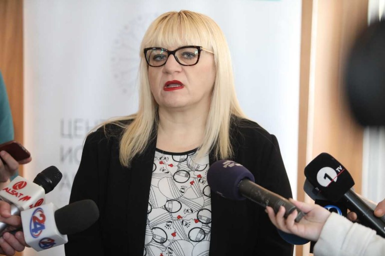 Justice Minister Deskoska wants to keep all of Janeva's staff