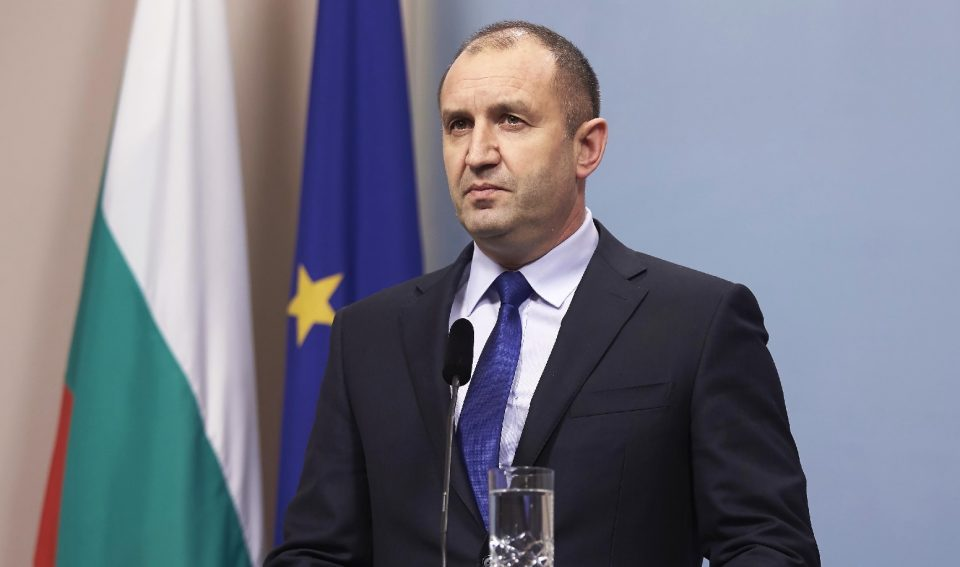 Radev: Bulgaria's support for North Macedonia is not unconditional