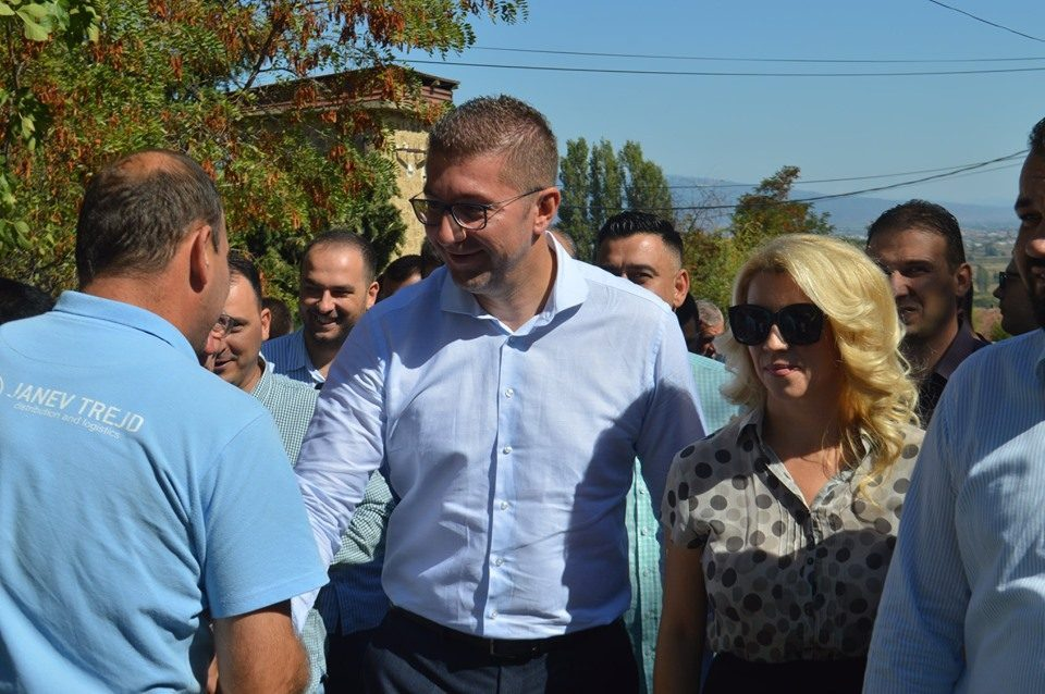 Mickoski in Strumica: People demand change!