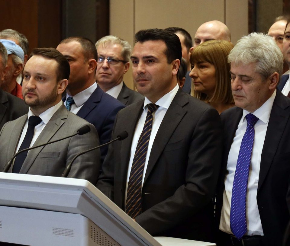 Albanian politicians say Zaev betrayed all expectations, see change at the 2020 elections