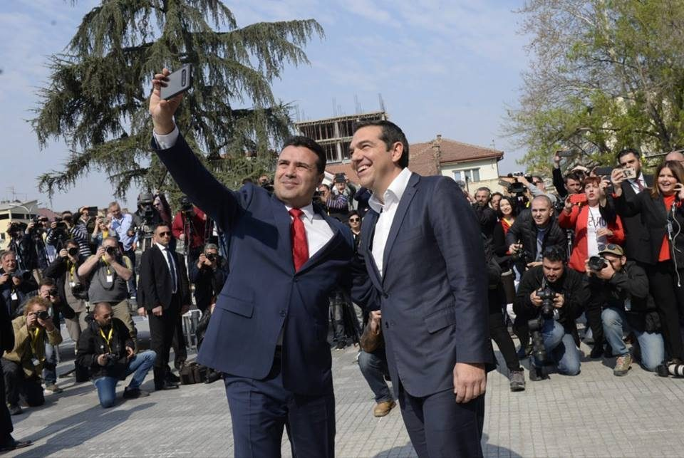Tsipras will visit Macedonia for the second time this year