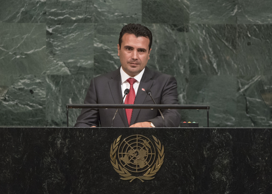 Zaev will meet Mitsotakis in New York, give the first UNGA speech following the imposed name change