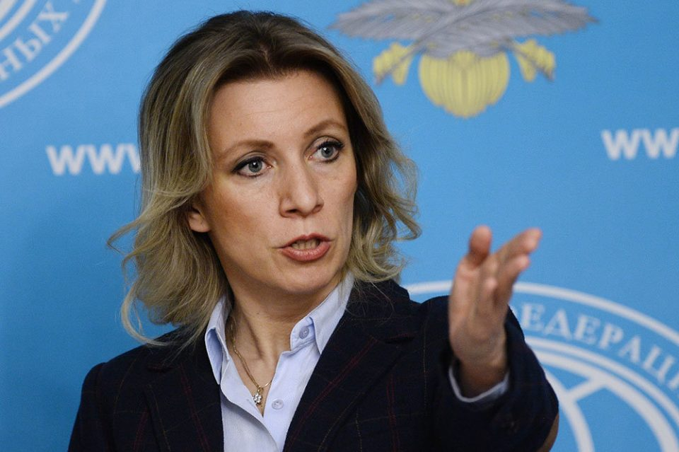 Zakharova: US must apologize for bombing former Yugoslavia