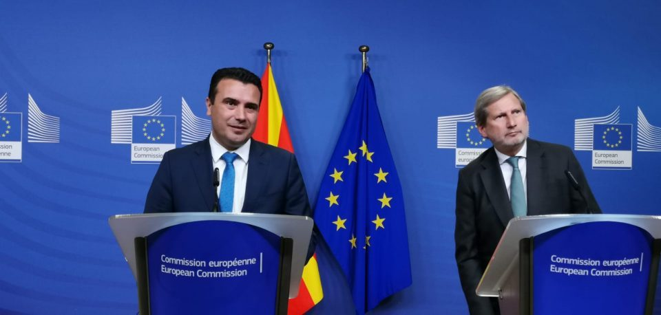 Zaev makes emotional appeal to Macron, won't say for certain whether he'll resign if he fails