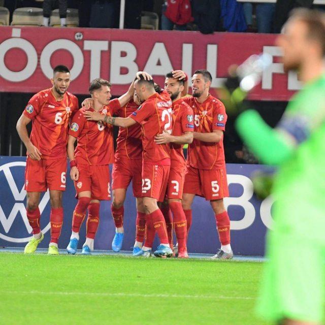 With two goals from Elmas, Macedonia beats Slovenia 2:1