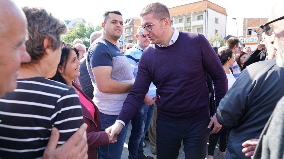 Mickoski in Gostivar: Enough with demagogy, we will offer new beginning and new successes for Macedonia