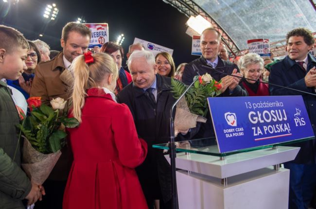 Ruling right wing party wins big in Polish elections