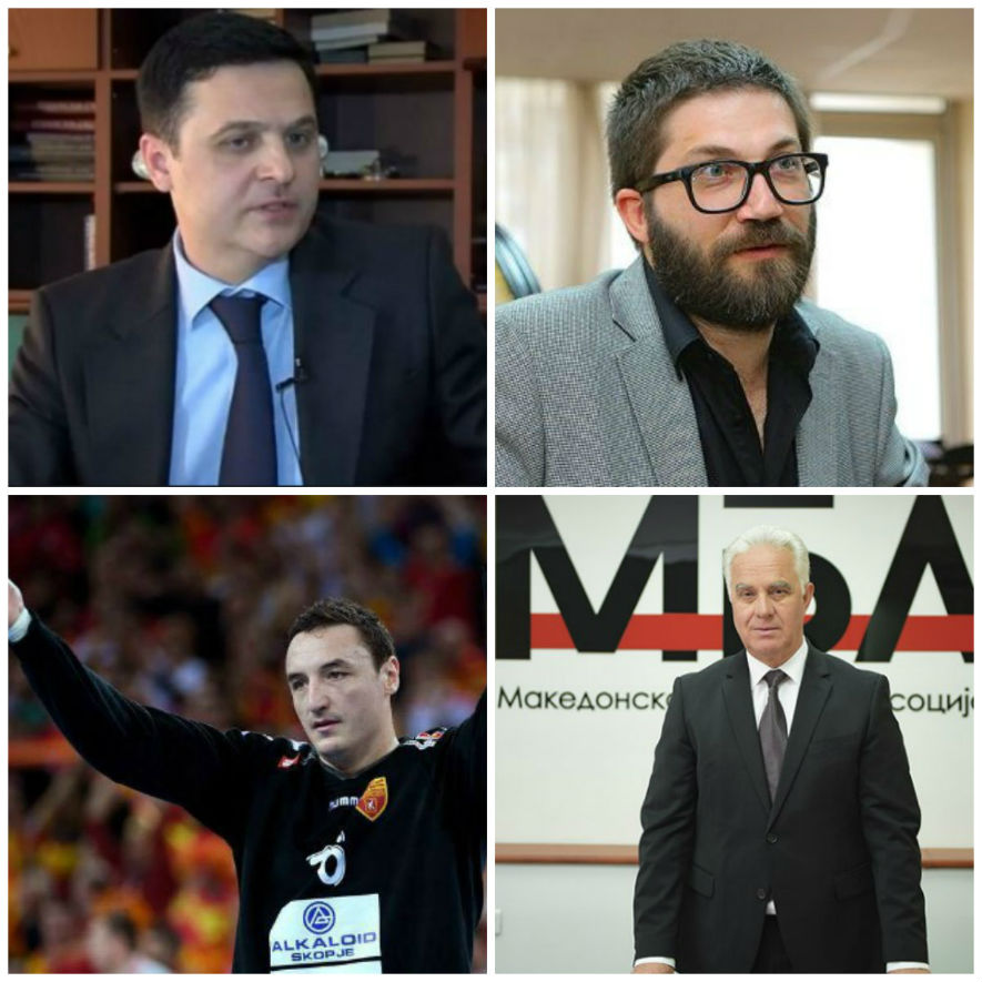 Representing the new VMRO team