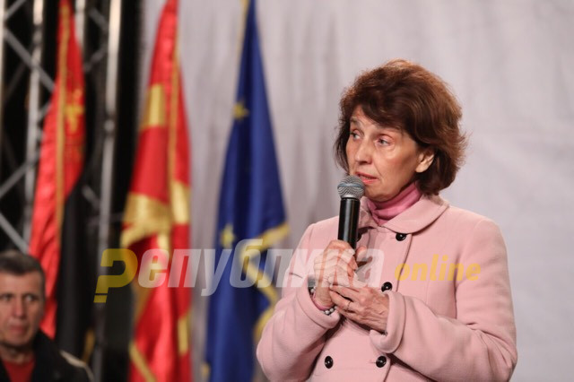 Siljanovska: We can't go forward if our national dignity is crushed