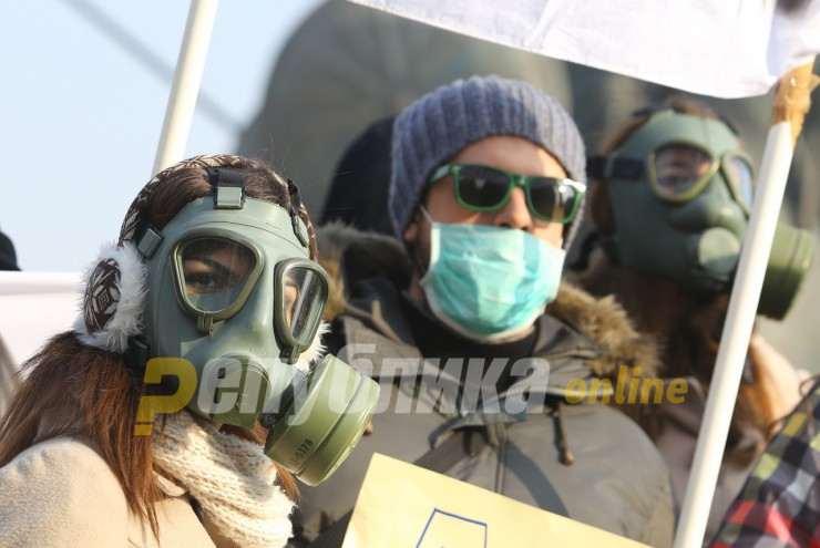 NGO groups call on President Pendarovski to use the army to fight air pollution