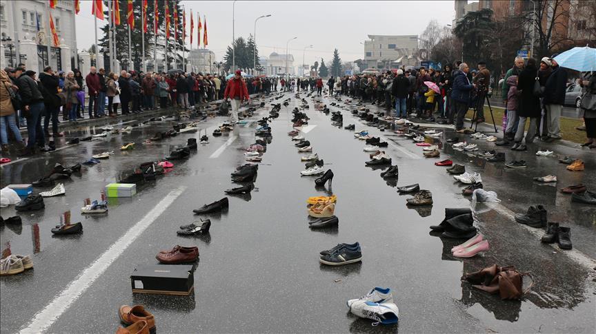 Half a million people have left Macedonia!