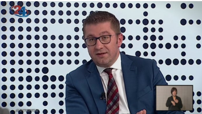 Mickoski tonight on TV24